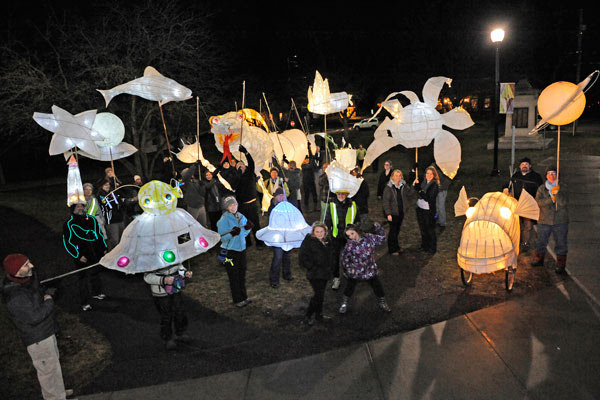 Artist Lanterns 2012 Parade